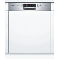 Bosch SMI46CS01E beépíthető inox kezelőpaneles mosogatógép