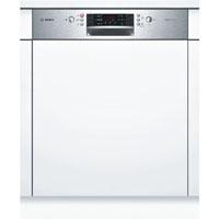 Bosch SMI46KS01E beépíthető inox kezelőpaneles mosogatógép