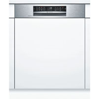Bosch SMI68MS02E beépíthető inox kezelőpaneles mosogatógép