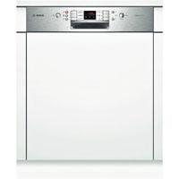 Bosch SMI68N65EU beépíthető inox kezelőpaneles mosogatógép