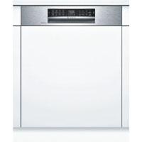 Bosch SMI68TS06E beépíthető inox kezelőpaneles mosogatógép