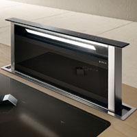 Elica ADAGIO BL F90 fekete konyhapultba építhető páraelszívó