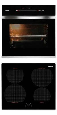 Nodor D 900 TCS BK + IB 46 BK önállóan beépíthető sütő + indukciós főzőlap szett