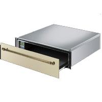 SMEG CT15P rusztikus beépíthető edénymelegítő fiók, bézs