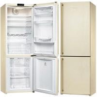 SMEG FA860PS szabadonálló rusztikus kombinált hűtőszekrény antracit