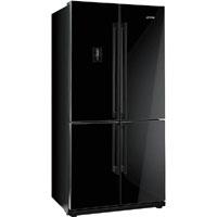 SMEG FQ60XPE side by side hűtőszekrény fekete