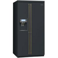 SMEG SBS8004AO szabadonálló side by side hűtőszekrény antracit