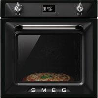 SMEG SF6922NPZ beépíthető hőlégkeveréses sütő, fekete