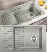 Blanco ELON XL 8S silgránit PuraDur® II mosogatótál