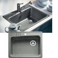Blanco LAGO silgránit PuraDur® II mosogatótál