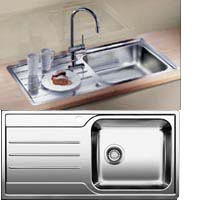 Blanco Median XL 6S-IF rozsdamentes acél mosogatótál