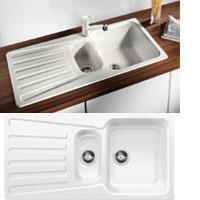 Blanco NOVA 6S silgránit PuraDur® II mosogatótál