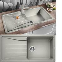 Blanco SONA XL 6S silgránit PuraDur® II mosogatótál