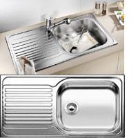 Blanco Tipo XL 6S rozsdamentes acél mosogatótál