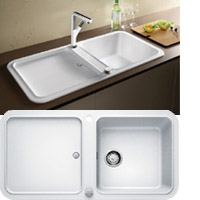 Blanco YOVA XL 6S silgránit PuraDur® II mosogatótál