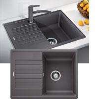 Blanco ZIA 45S Compact silgránit PuraDur® II mosogatótál