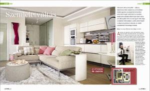 Otthon magazin Kleopátra-ház cikk