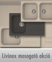 Akciós Livinox gránit mosogatók